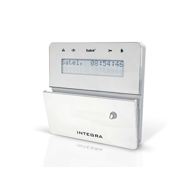 Manipulator systemu alarmowego INTEGRA INT-KLFR-WSW