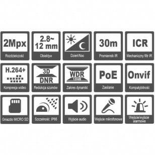 Kamera HQ-MP202812LT-IR