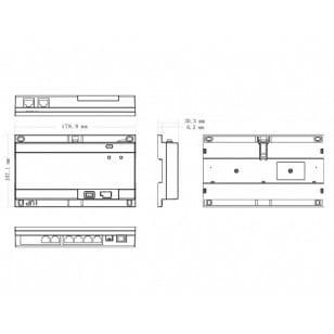 Switch 6-portowy PoE VTNS1060A