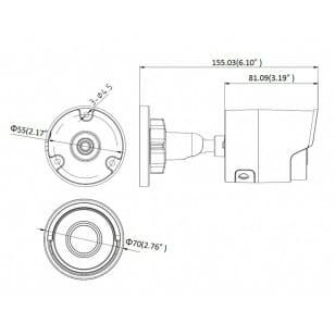 Kamera DS-2CD2043G0-I 2.8mm