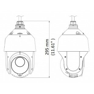 Kamera szybkoobrotowa HQ-TSD2030-IR