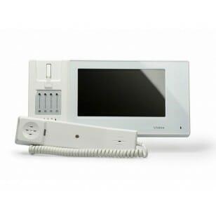 M270W-S2- Głośnomówiący / słuchawkowy monitor wideodomofonu