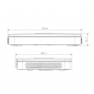 Rejestrator sieciowy DHI-NVR2104HS-P-S2