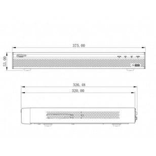 Rejestrator sieciowy DH-NVR5216-16P-4KS2