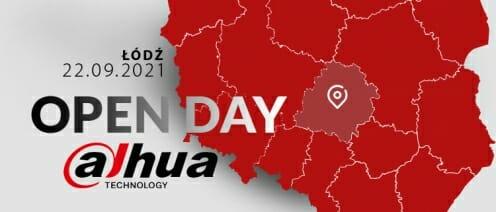 OPEN DAY DAHUA - ŁÓDŹ